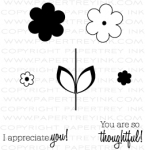 The Vault - Flower Fusion #2 Mini Stamp Set
