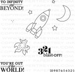 Boy Basics: Out of This World Mini Stamp Set