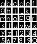 Alpha-blocks Stamp Set