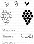 Fruit Fusion: Grapes Mini Stamp Set
