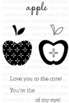 Fruit Fusion: Apple Mini Stamp Set