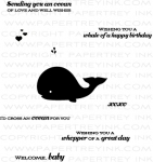 Whale Wishes Mini Stamp Set