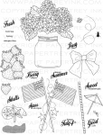 Friendship Jar Summer Fillers Stamp Set