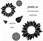 Simple Sunflower Mini Stamp Set
