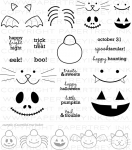 Halloween Treats & Sweets Stamp Set