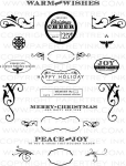 Holiday Photo Finishers Stamp Set