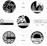 The Vault - 2011 Holiday Tags Stamp Set