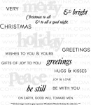 Wonderful Words: Holiday Stamp Set