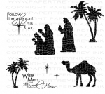 Nativity Silhouettes Additions Stamp Set