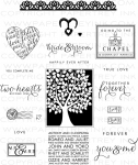 Love & Marriage Stamp Set
