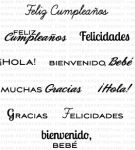 Global Greetings: Spanish Mini Stamp Set