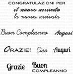 Global Greetings: Italian Mini Stamp Set