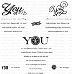 Simply You Stamp Set