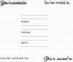 By Invitation Mini Stamp Set