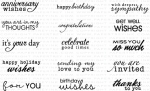 Fillable Frames Sentiments Stamp Set