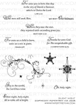 The Vault - Silent Night Stamp Set