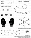 Snowfall Stamp Set