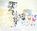 PTI Make It Market Mini Kit -  Color Pop Butterflies