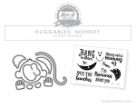 Huggables: Monkey Mini Stamp & Die