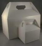 Small White Gable Box (5 per package)