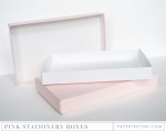 Pale Pink Stationery Box (2 per package)