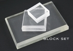 Acrylic Block Set (Set of 3 blocks)
