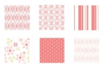 "Pink Patterns Patterned Paper 6""X6"" (36 sheets)"