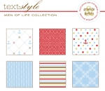 "Men of Life Patterned Paper 8""X8"" (36 sheets)"