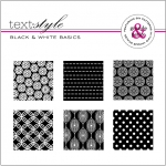 "Black & White Basics Patterned Paper 8""X8"" (36 sheets)"