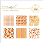 "Autumn Abundance Patterned Paper 8""X8"" (36 sheets)"