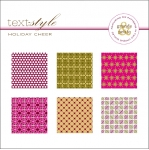 "Holiday Cheer Patterned Paper 8""X8"" (36 sheets)"