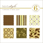"Turning a New Leaf Patterned Paper 8""X8"" (36 sheets)"