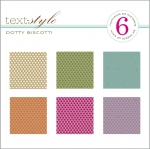 "Dotty Biscotti Patterned Paper 8""X8"" (36 sheets)"
