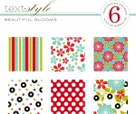 "Beautiful Blooms Patterned Paper 8""X8"" (36 sheets)"