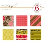 "It's Official Patterned Paper 8""X8"" (36 sheets)"