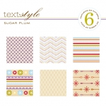 "Sugar Plum Patterned Paper 8""X8"" (36 sheets)"