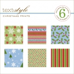 "Christmas Prints Patterned Paper 8""X8"" (36 sheets)"
