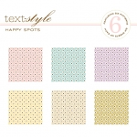 "Happy Spots Patterned Paper 8""X8"" (36 sheets)"