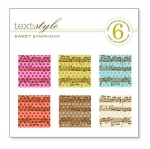 "Sweet Symphony Patterned Paper 8""X8"" (36 sheets)"