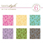 "By the Numbers Patterned Paper 8""X8"" (36 sheets)"