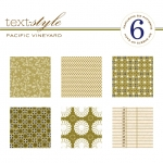 "Pacific Vineyard Patterned Paper 8""X8"" (36 sheets)"