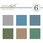 "Argyle Socks Patterned Paper 8""X8"" (36 sheets)"