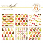 "Fruitti Tutti Patterned Paper 8""X8"" (36 sheets)"