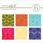 "Damask Designs Patterned Paper 8""X8"" (36 sheets)"