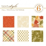 "Fall Prints & Patterns Patterned Paper 8""X8"" (36 sheets)"