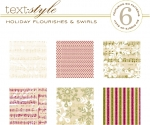 "Holiday Flourishes & Swirls Patterned Paper 8""X8"" (36 sheets)"