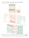 Watercolor Wonder Patterned Paper Pack (36 sheets)