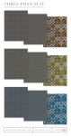 Three Piece Suit Paper Collection (36 sheets)