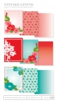 Vintage Linens Patterned Paper Collection (36 sheets)
