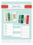 Ribbon Slider Tag Paper Collection (15 sheets)